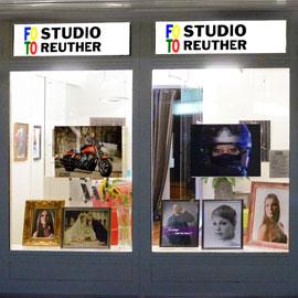 Fotostudio Schaufenster